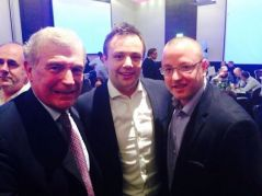 MG, Luke & Sir Trev